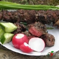 фото рецепта Шашлык из говядины