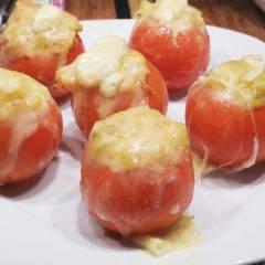 фото рецепта Запеченные помидоры с кабачком и сыром