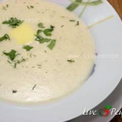 Суп - пюре с шампиньонами