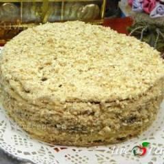 "фото рецепта Торт ""Наполеон"" на сковороде"