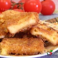 Шницель из сыра