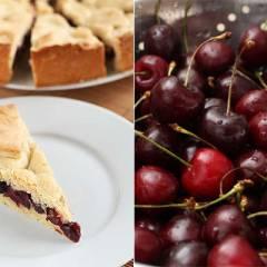 фото рецепта Баскский пирог с черешней