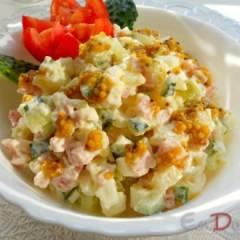 Салат с картофелем и французской горчицей