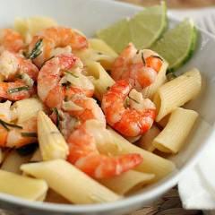 фото рецепта Паста с креветками