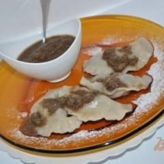 фото рецепта Вареники с шелковицей