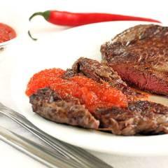 фото рецепта Соус-варенье из острого перца к мясу