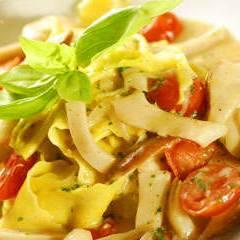 фото рецепта Паста «Папарделле» с белыми грибами