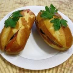 фото рецепта Сэндвичи с анчоусами