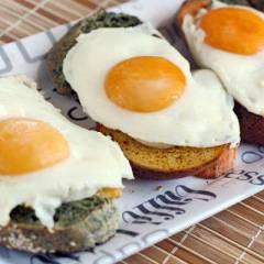 фото рецепта Тосты с яйцом