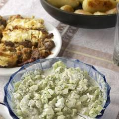 фото рецепта Легкий огуречный салат