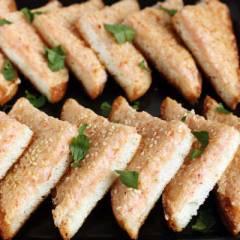 фото рецепта Креветочные тосты