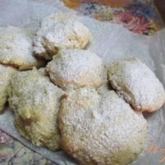 фото рецепта Пышное печенье из жмыха апельсина