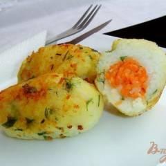 Котлеты рисово-картофельные с морковью