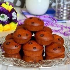 Постные медовые кексы с шоколадными каплями