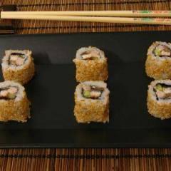 фото рецепта Саимаки (роллы «наизнанку»)