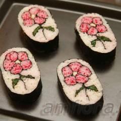 фото рецепта Кадзари-суши «Цветок»