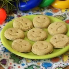 """фото рецепта Детское кукурузное печенье """"Смайлы"""""""