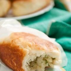 фото рецепта Пирожки с картошкой (постные)