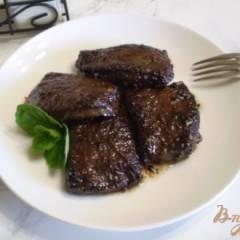 фото рецепта Мини-стейки из печени