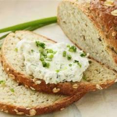 фото рецепта Хлеб из овсяных хлопьев с зеленью