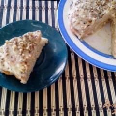 Торт «Наполеон» из печенья «Ушки»