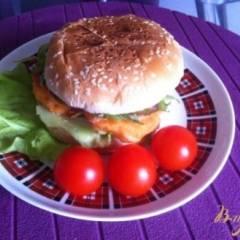 фото рецепта Фишбургер