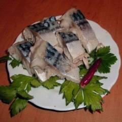 фото рецепта Скумбрия в горчичном соусе