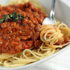 фото рецепта Спагетти болоньезе