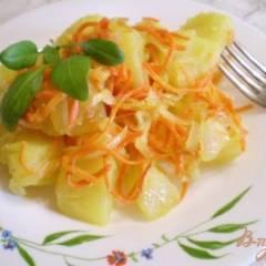 фото рецепта Картофельный гарнир