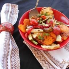 фото рецепта Гарнир из овощей-гриль