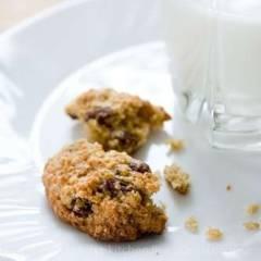 фото рецепта Овсяное печенье с изюмом