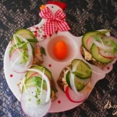 фото рецепта Пасхальные канапе