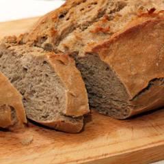 фото рецепта Гречневый хлеб с семечками