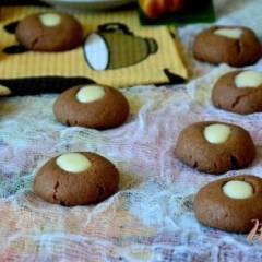 Шоколадное печенье на дрожжах