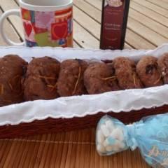 фото рецепта Постное печенье с кэробом