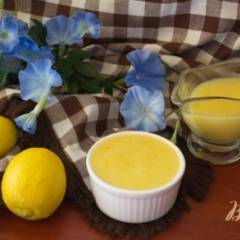 Лимонный крем со сливочным маслом