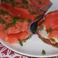фото рецепта Слабосоленая семга