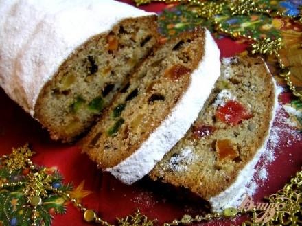 Пряный рождественский кекс (выдержка 3-6 недель)