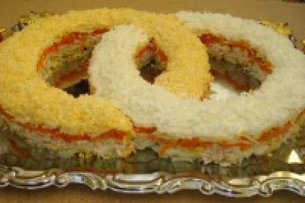 Вкусный салат на свадьбу