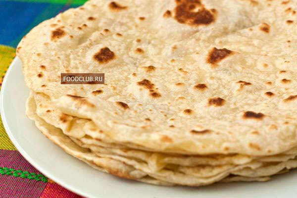 Мексиканские пшеничные тортильи