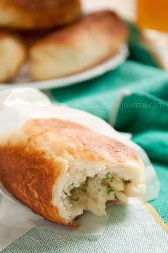 Пирожки с картошкой (постные)