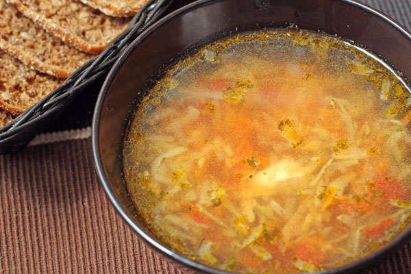 Детский суп с овощами