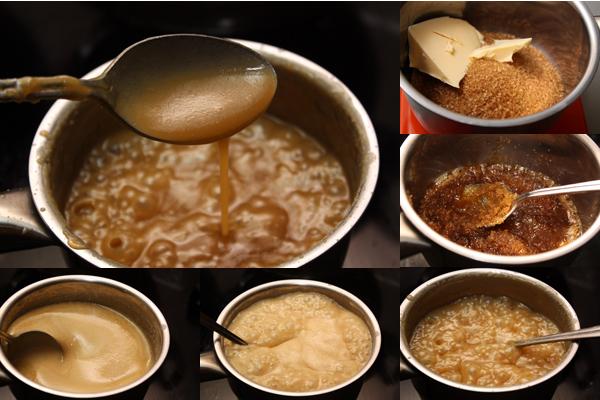 Для ириски нужно растопить масло с сахаром, затем добавить сливки и варить на большом огне, помешивая, до загустения (минут 10-15).