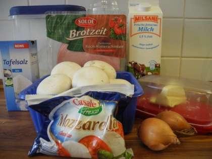 Для приготовления блинчиков с начинкой нам понадобится: