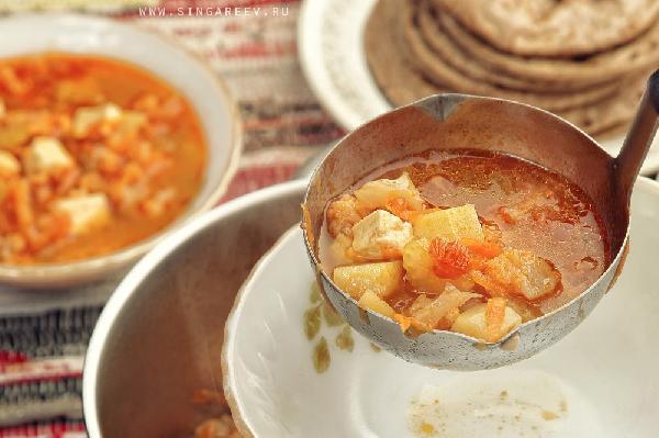 Через минут 5-7 суп готов! Ура ))