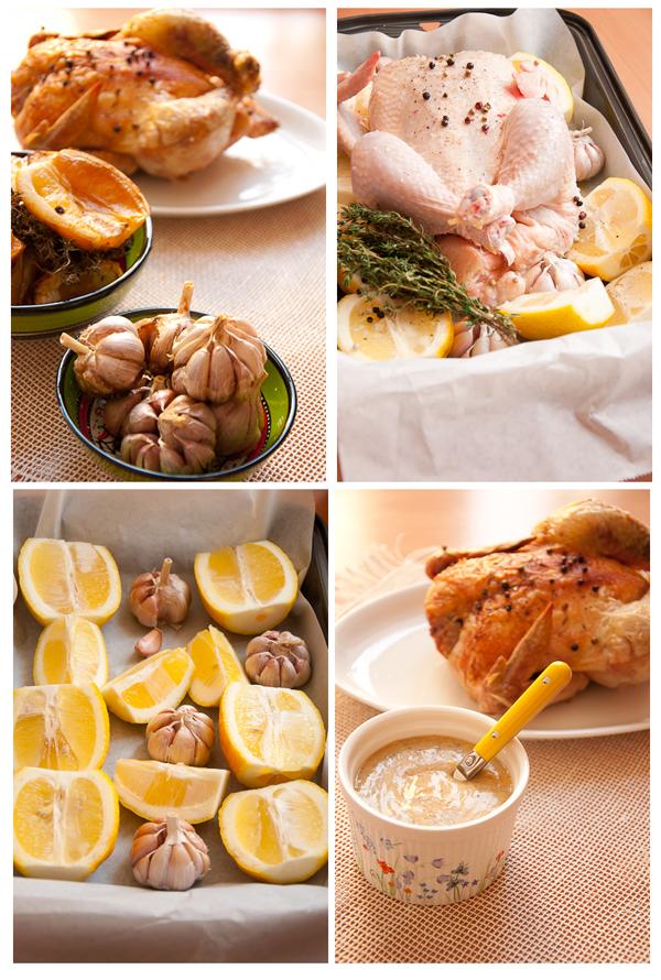 Запекать курицу при 180 градусах, исходя из того, что на каждый килограмм требутся чуть более часа.